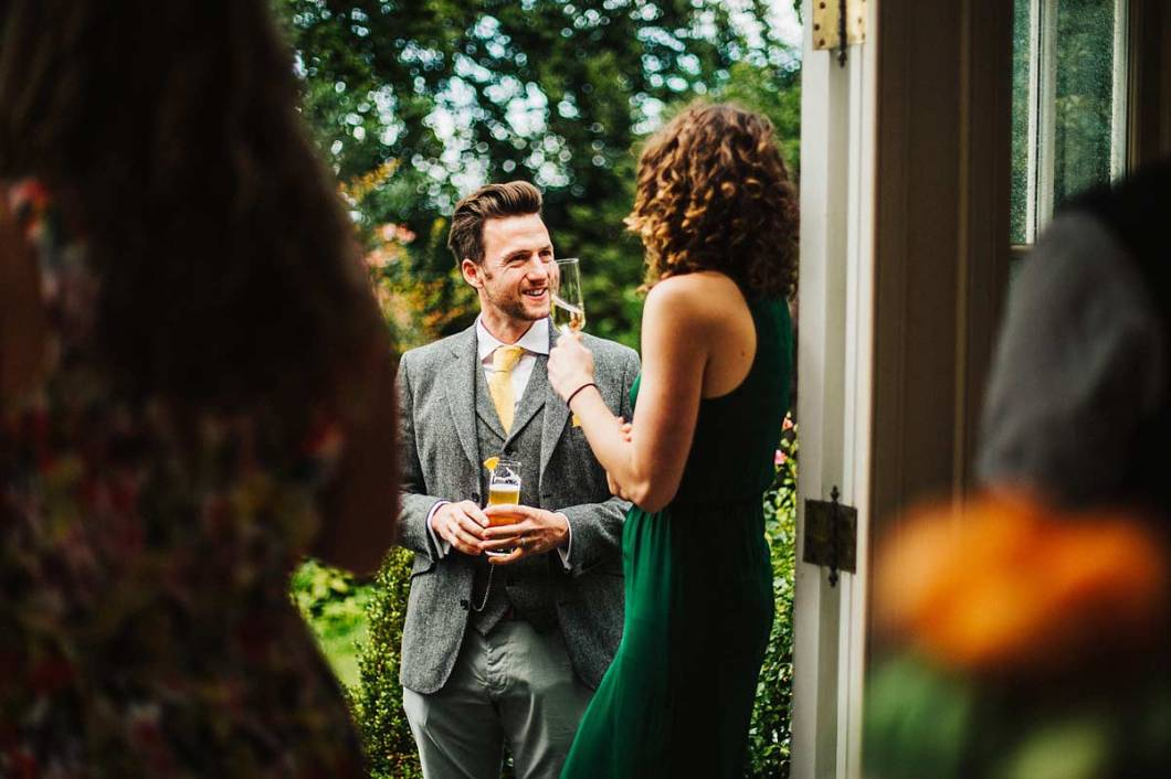 Natural photos of guests