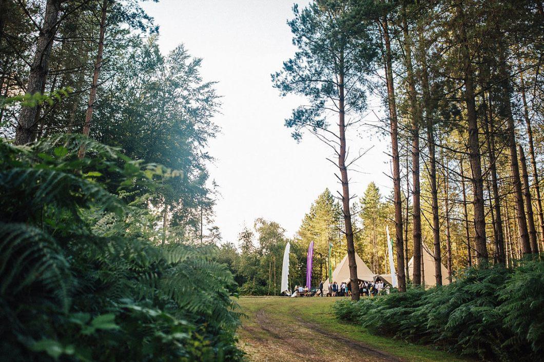 Tipi wedding Delamere Forest