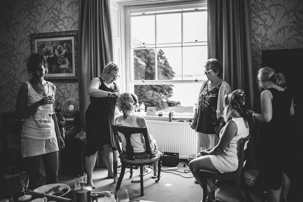 Wedding hair and makeup Lake District