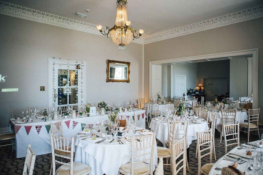 Storrs Hall venue decor
