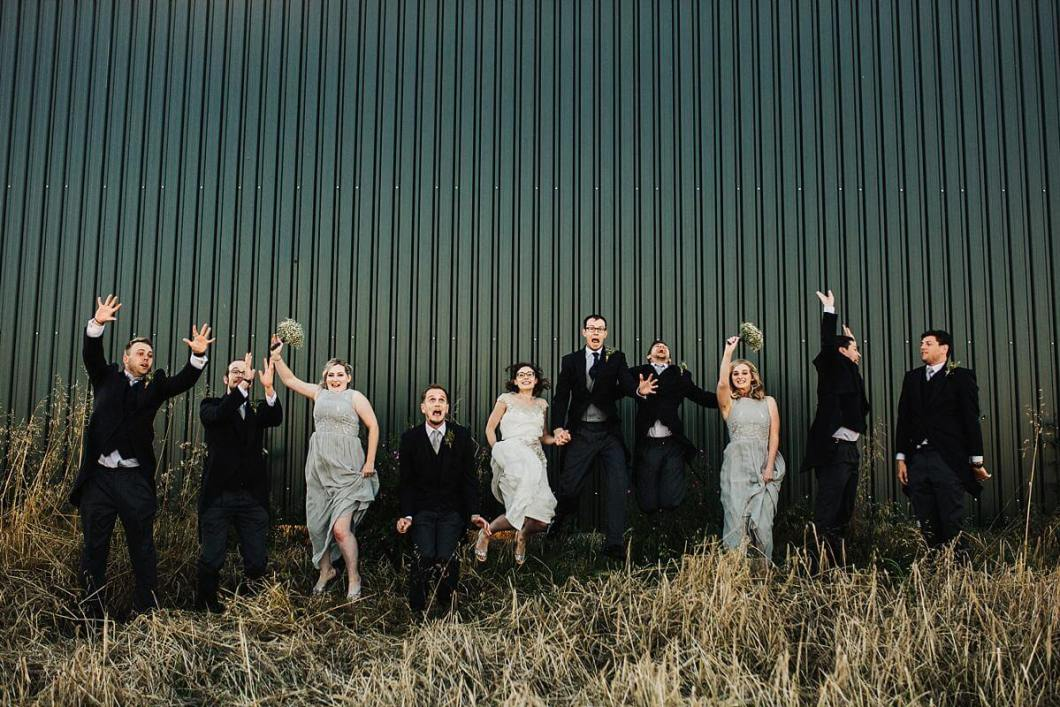 Fun relaxed wedding photography