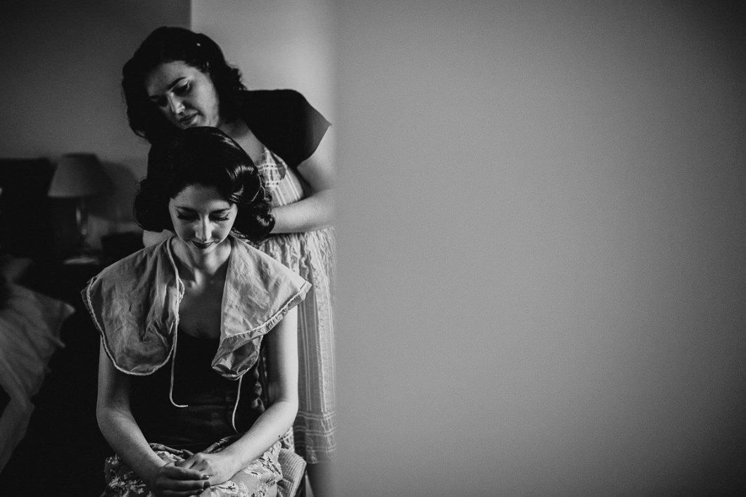 The Vintage Beauty Parlour wedding hair