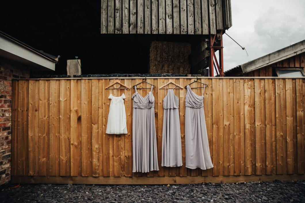 Wed2Be dusty purple bridesmaid dresses