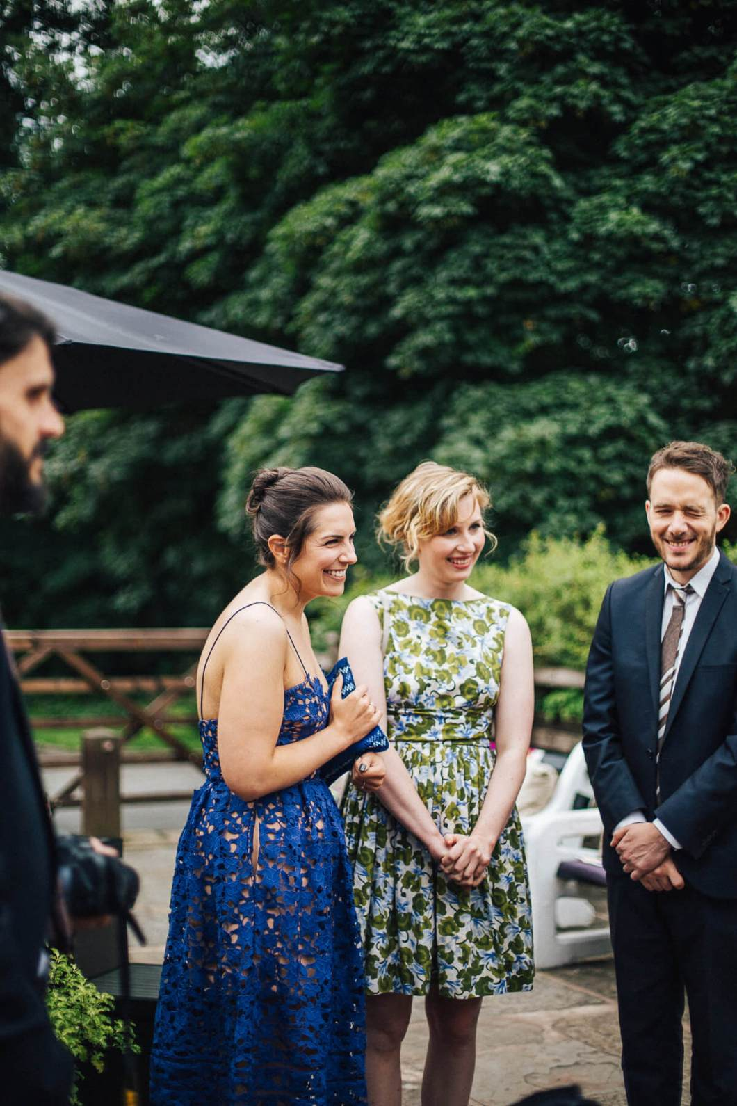 Natural photography of the guests