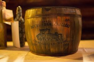 Half wine cask