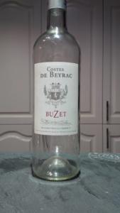 Costes de Beyrac - Buzet wine bottle