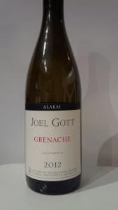Joel Gott Alakai 2012 Grenache