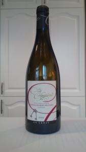 La Célestière 2009 wine bottle