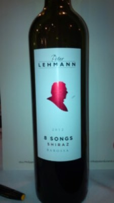 Peter Lehmann eight songs shiraz 2012 wine bottle