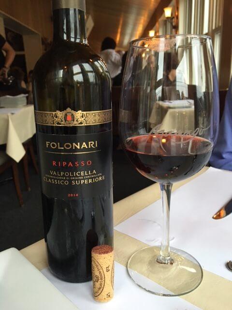 Folonari Ripasso Valpolicella Classico Superiore 2014 Wine Bottle