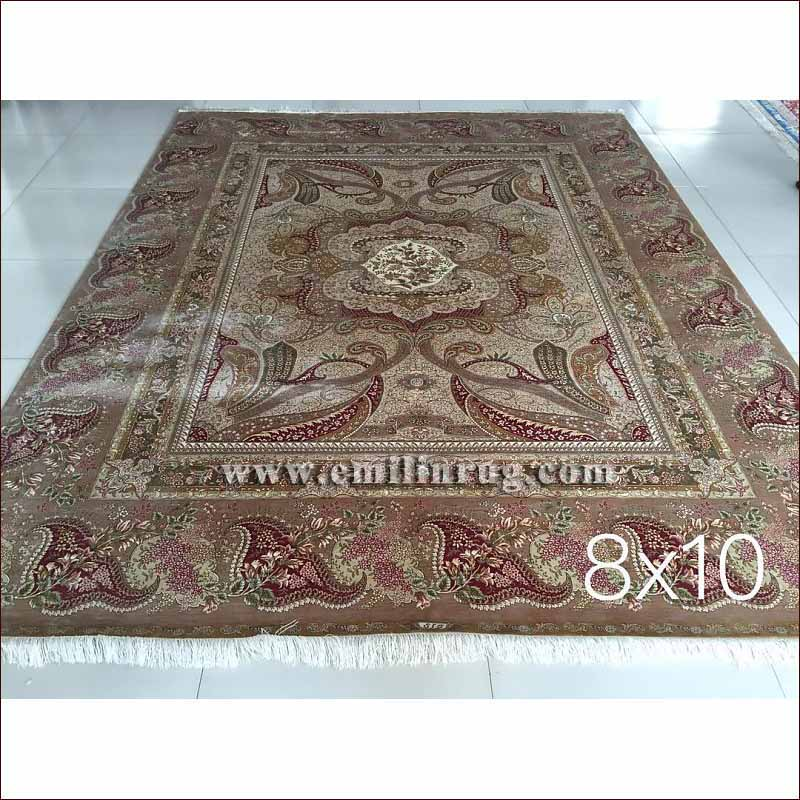 traditional living rooms with oriental rugs brown chenille sofa room furniture 1 8x10 red silk handmade persian rug