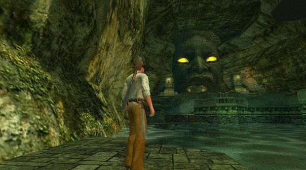Indiana Jones and the Emperor's Tomb screenshot (SOURCE: LucasArts)