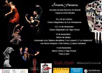 alicante-flamenca, Jornadas de Baile flamenco