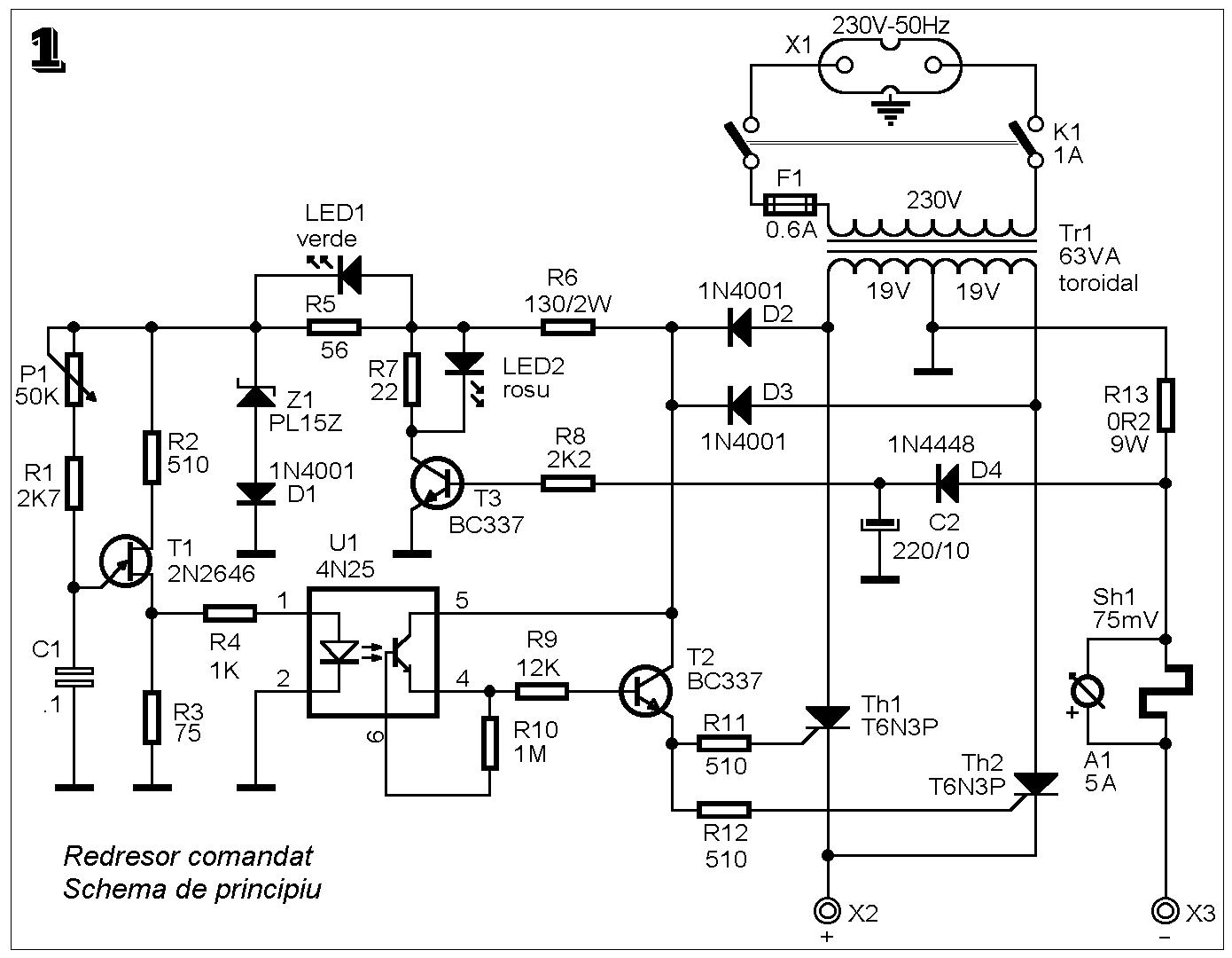 Simple Wiring Diagram For 12v Alternator