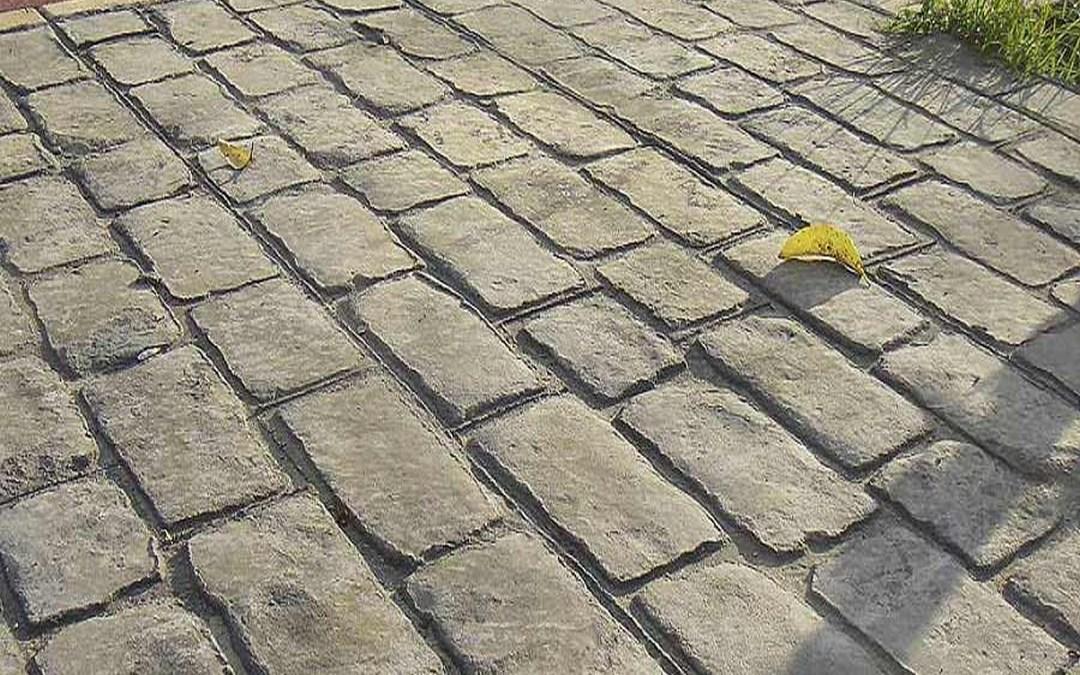 Il cemento stampato: innovazione originalità per pavimenti!