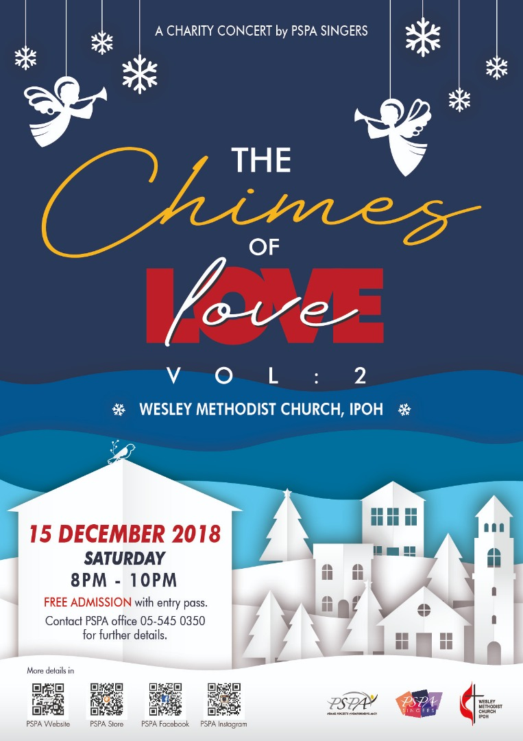 Announcement: The Chimes of Love Vol. 2, presented by PSPA Singers   From Emily To You