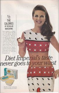 1967 Diet Imperial Margarine Ad from McCall's