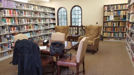 Lanier Theological Library - a favorite procrastination zone
