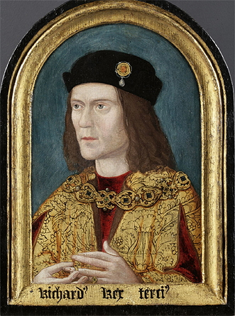 Portrait of Richard III from 1520