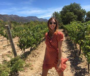 Running around Vineyards in Spain