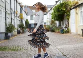 Uzma Bozai Jumper & Skirt