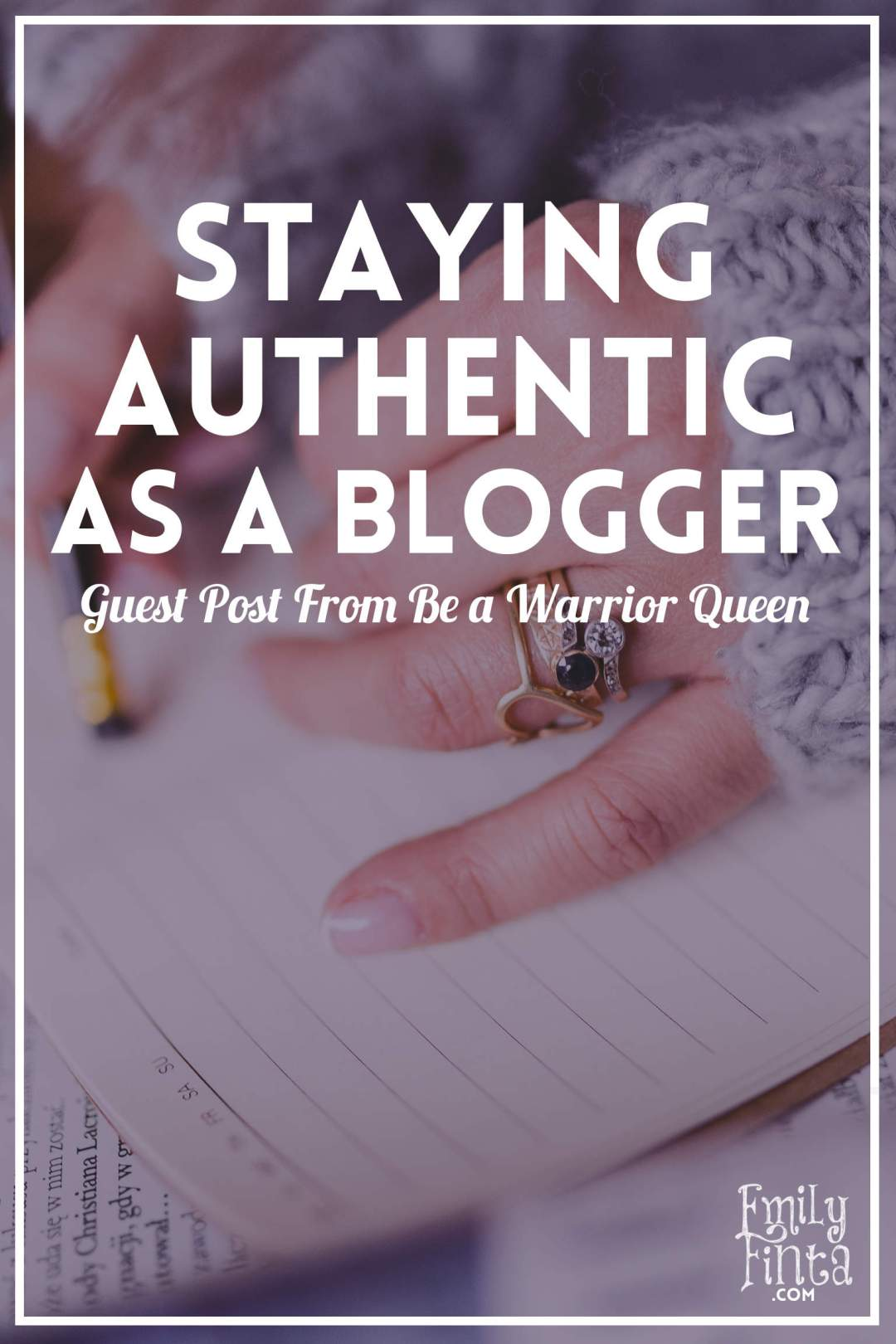 Emily Finta - Staying Authentic as a Blogger