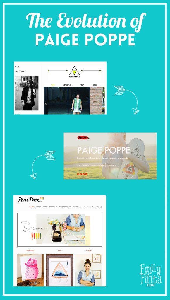 Emily Finta - Paige Poppe Branding Interview Evolution
