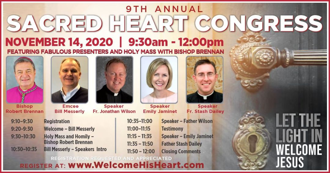 Sacred Heart Congress- November 14, 2020