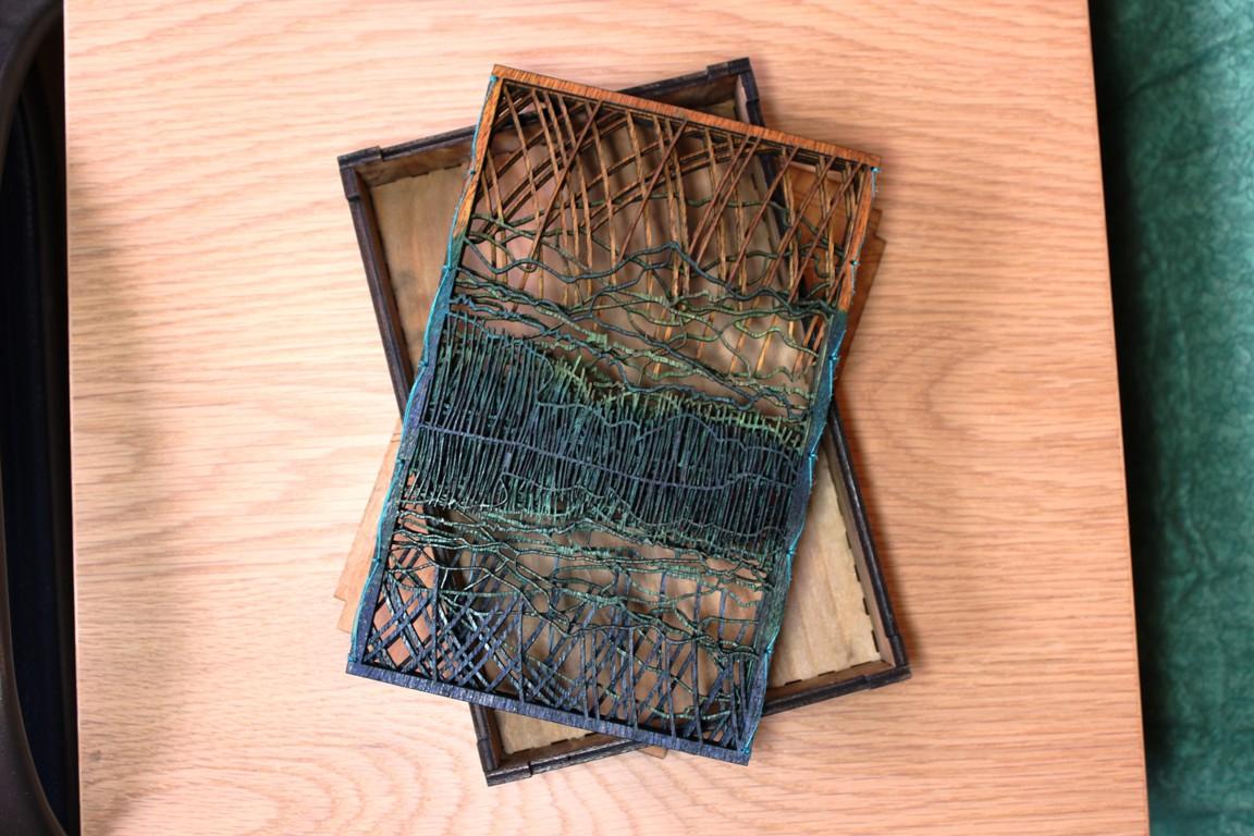 Denali wooden accordion book: day 213 | emily longbrake