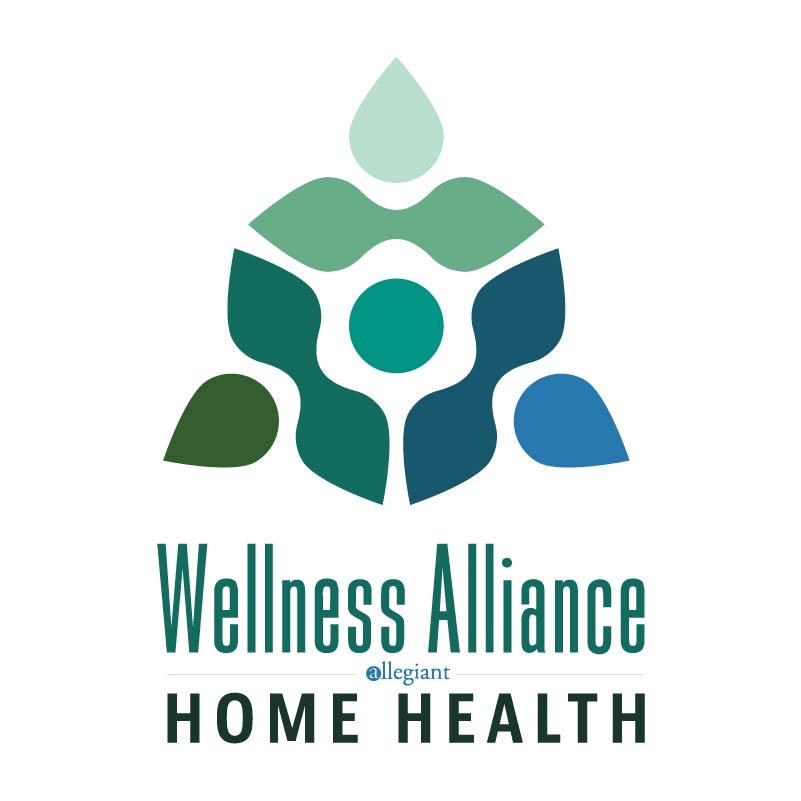 wellness alliance home health logo designs - Home Health Logo Design