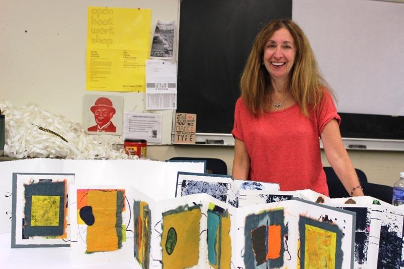 Day 52: Book Artist Laurie Alpert