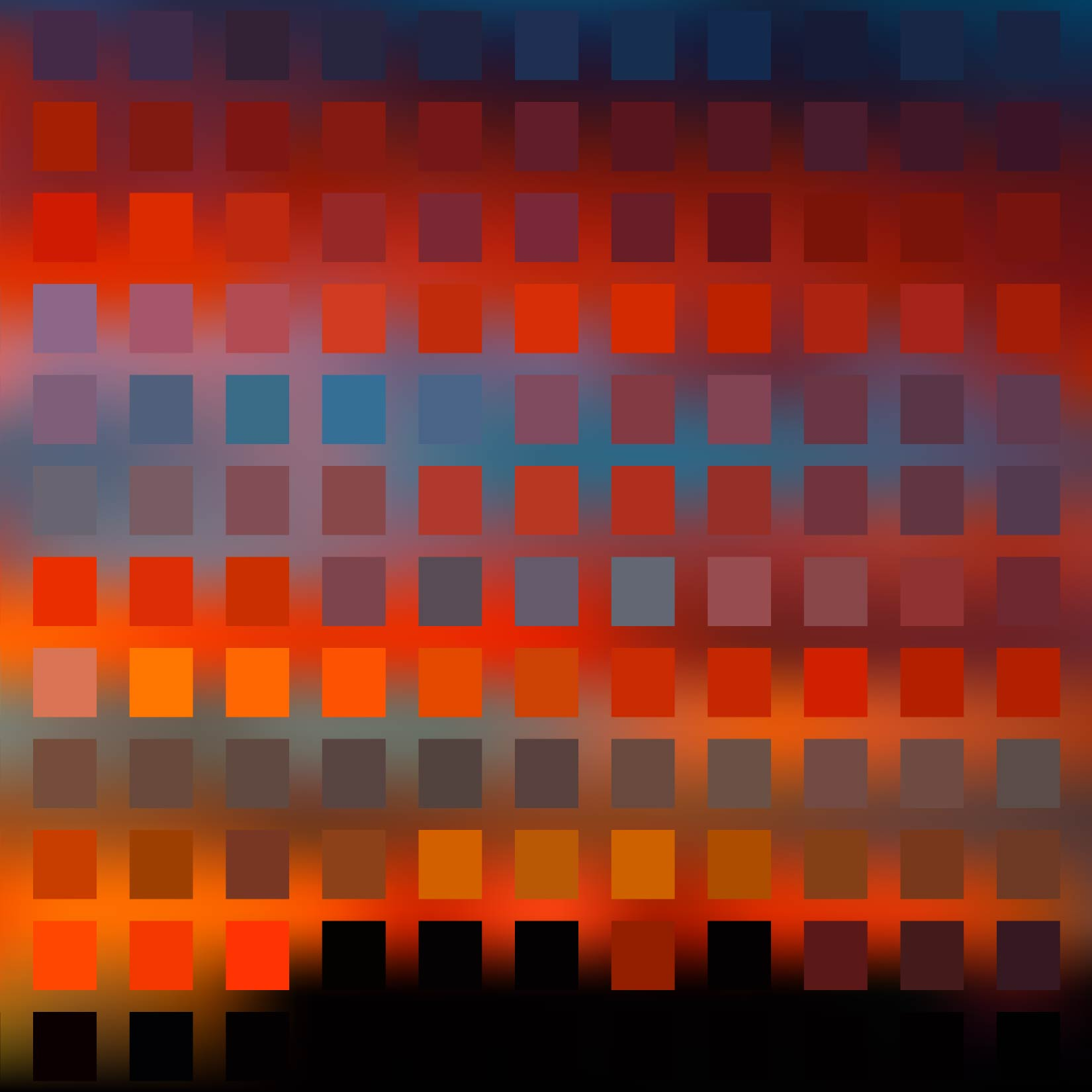 Sunset Object Mosaic 02