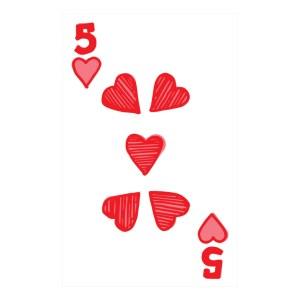 Custom Playing Cards Hearts 05