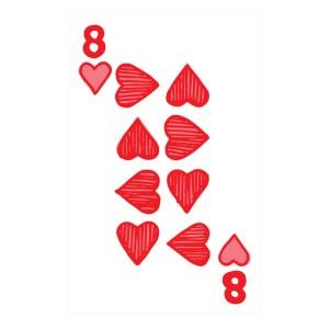 Custom Playing Cards Hearts 08