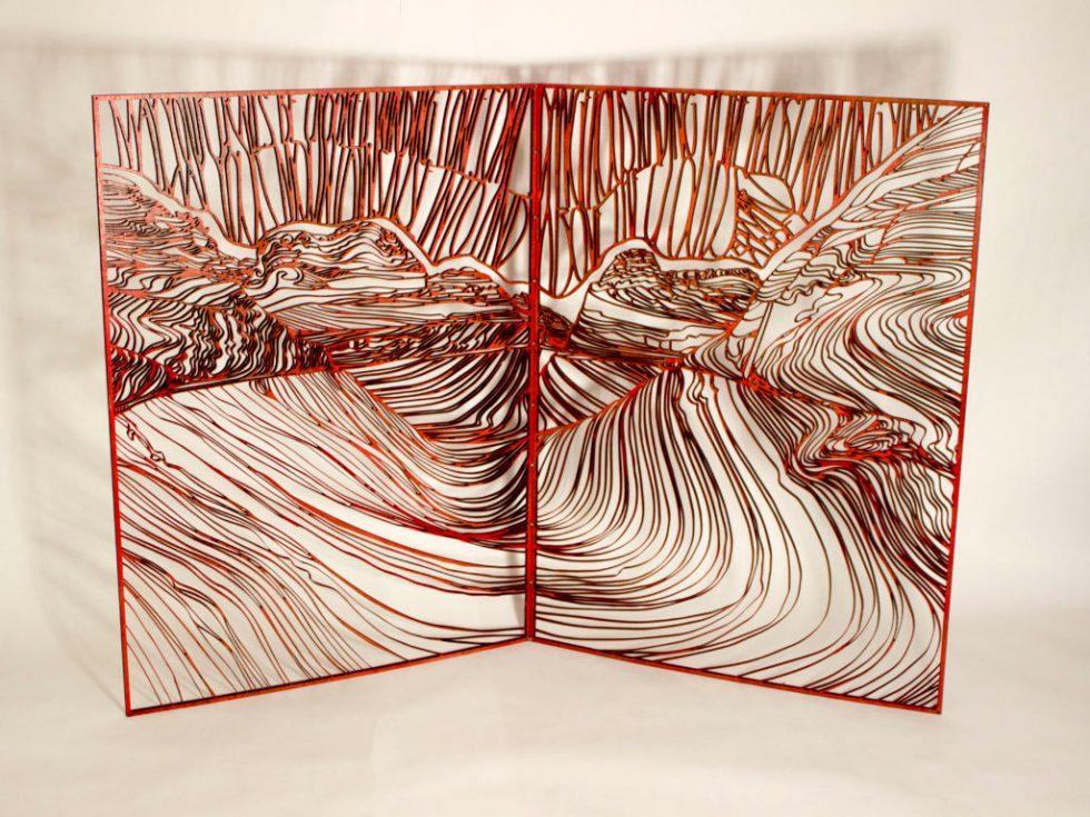 wave panels book form