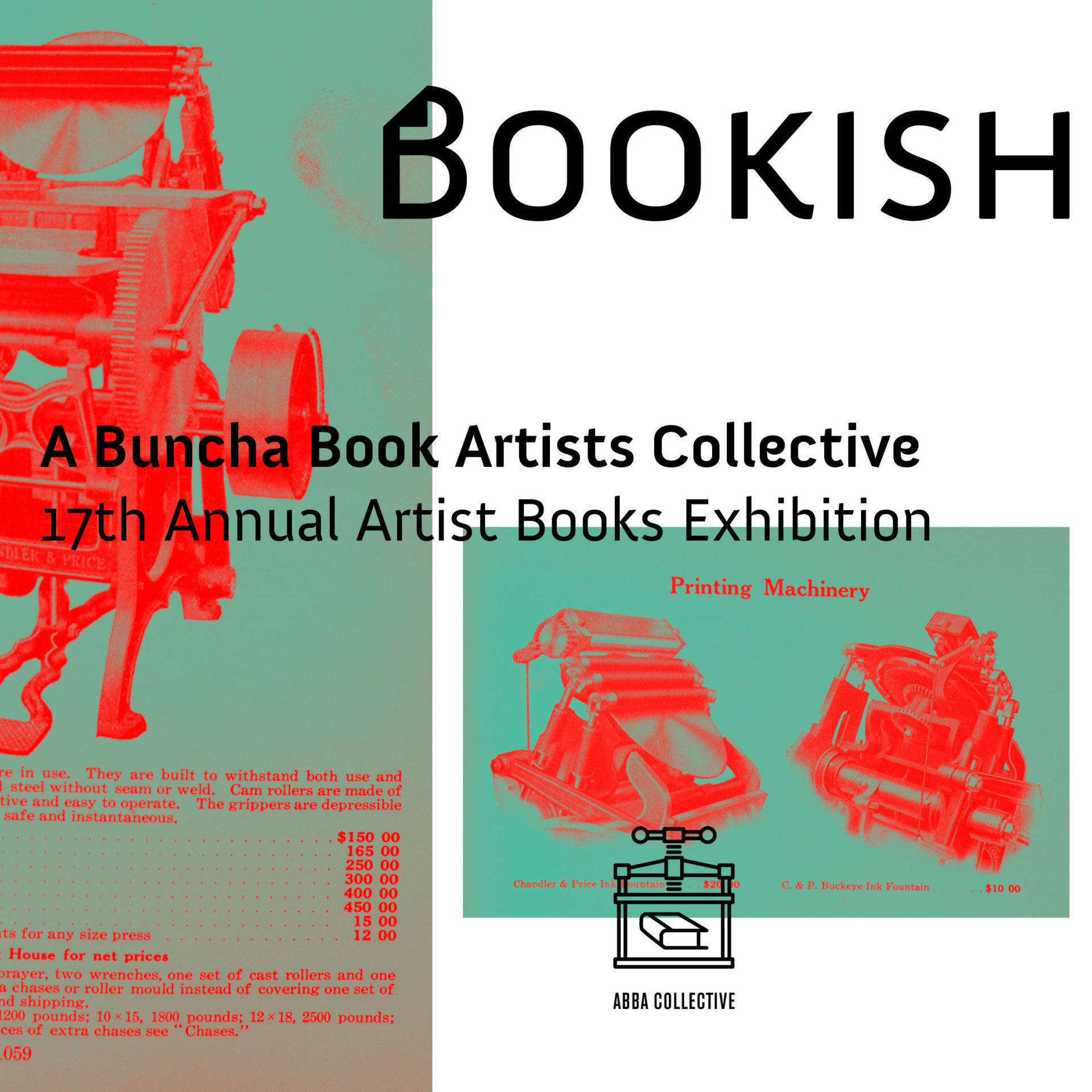 Bookish A Buncha Book Artists Member Exhibition