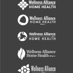 Wellness Alliance Home Health Logo Design Drafts 13