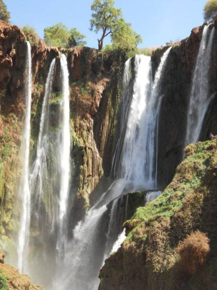 Waterfalls at the Cascades d'Ouzoud
