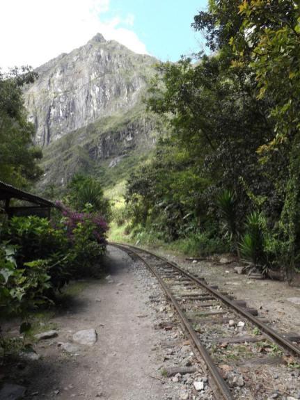 Road to Aguas Calientes