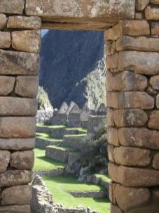 Door, Machu Picchu