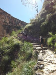 The climb back up
