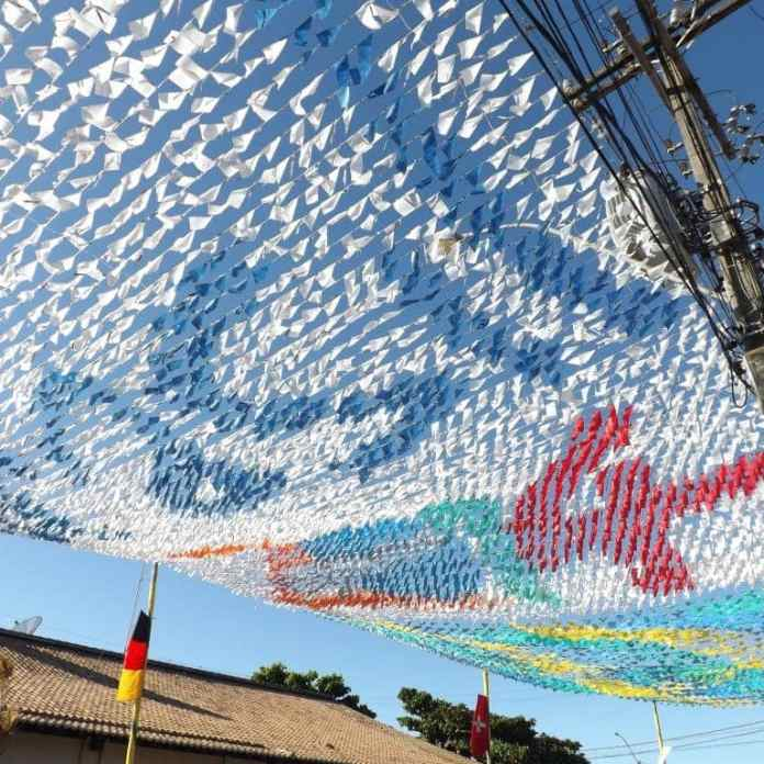 World Cup Bunting in Porto Seguro