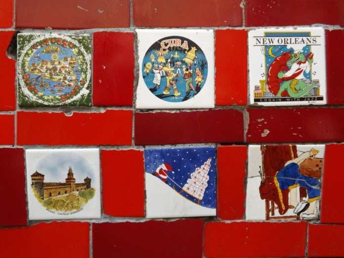 Tiles from around the world
