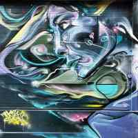Mr Cenz mural in E1