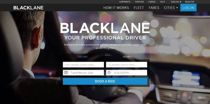 Blacklane Reviews