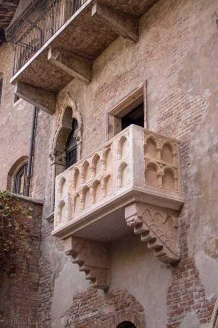 Juliet's balcony!