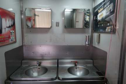 Thailand Sleeper Train Bathroom
