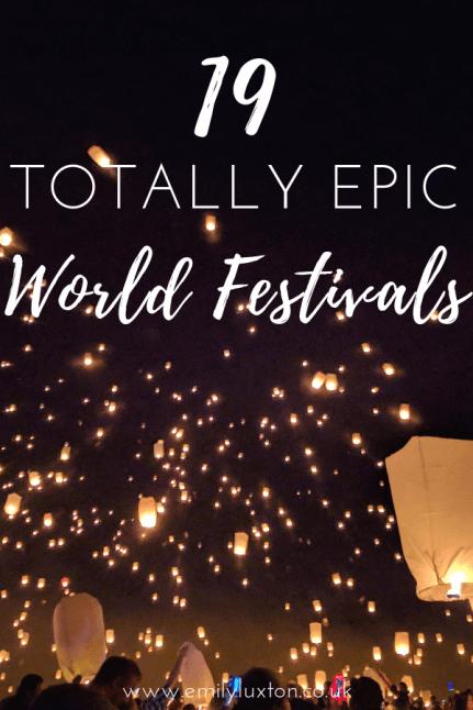 19 of the best festivals around the world