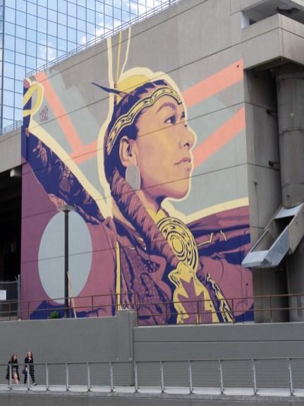 BUMP Murals Indigenous Woman
