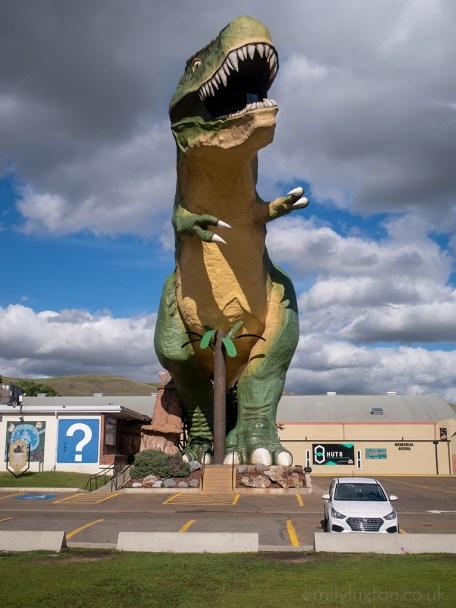 Giant T-Rex in Drumheller Canada